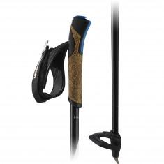 Salomon R 60 Click, ski poles, black
