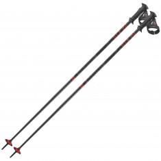 Salomon X10 ERGO S3, ski poles, black/red