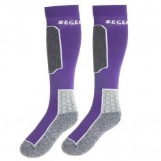 Seger Racer, ski sokker, 2-par, lilla