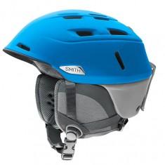 Smith Camber ski helmet, blue/cloudgrey