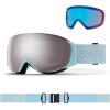 Smith I/O MAG S WMS, Skibriller, Rock Salt Tannin