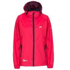 Trespass Qikpac, raspberry, female rain jacket