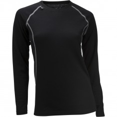 Ulvang 50Fifty 2.0 Round Neck, Dame, Black
