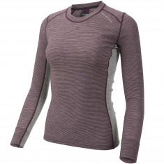 Ulvang Rav 100% round neck, women, fig/grey