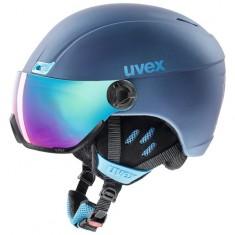 Uvex hlmt 400 visor, navy blue