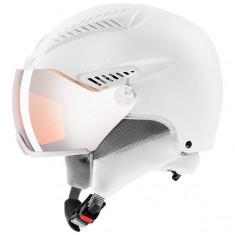 Uvex hlmt 600 Skihjelm med visir, White